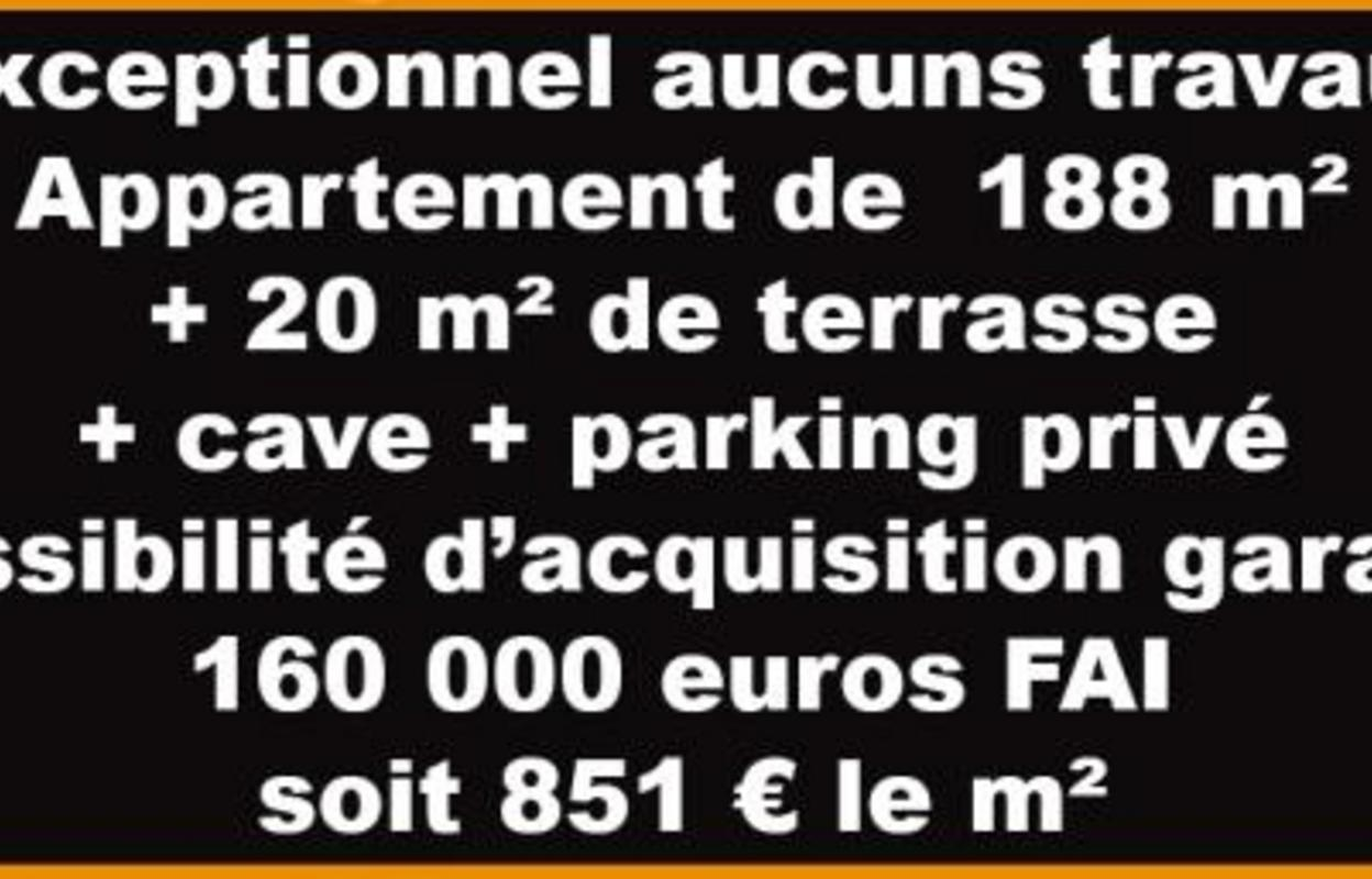 Appartement 8 pièces 188 m²