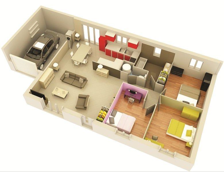 Vente Maison neuve 75 m² à St Sardos 132 000 ¤
