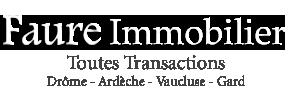 Faure Immobilier agence immobilière Pierrelatte (26700)