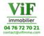 VIF IMMOBILIER agence immobilière à VIF