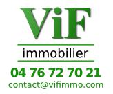 VIF IMMOBILIER agence immobilière Vif (38450)