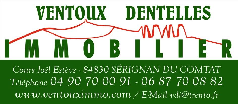 VENTOUX DENTELLES IMMO agence immobilière à Sérignan-du-Comtat 84830