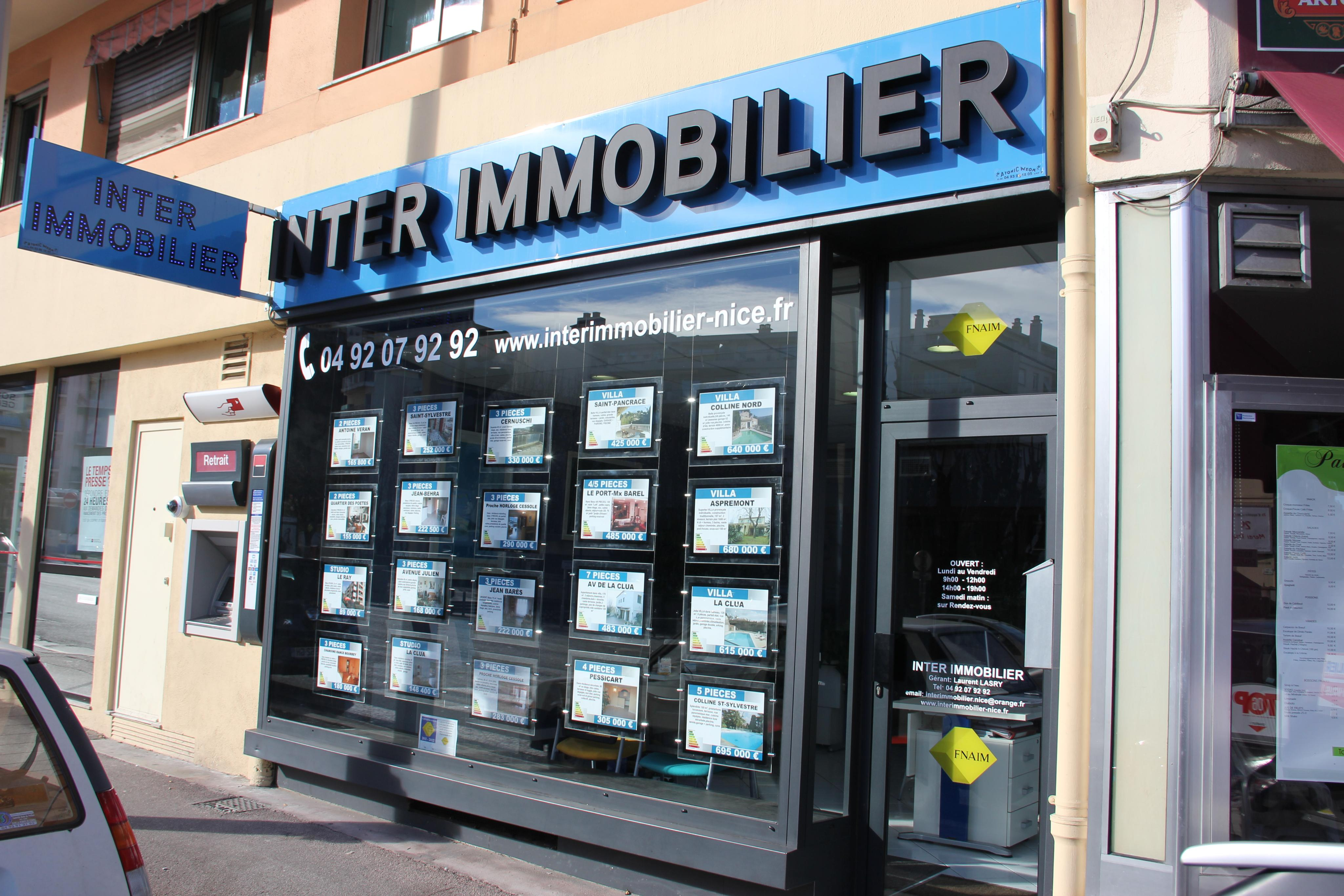 Inter Immobilier agence immobilière Nice (06100)