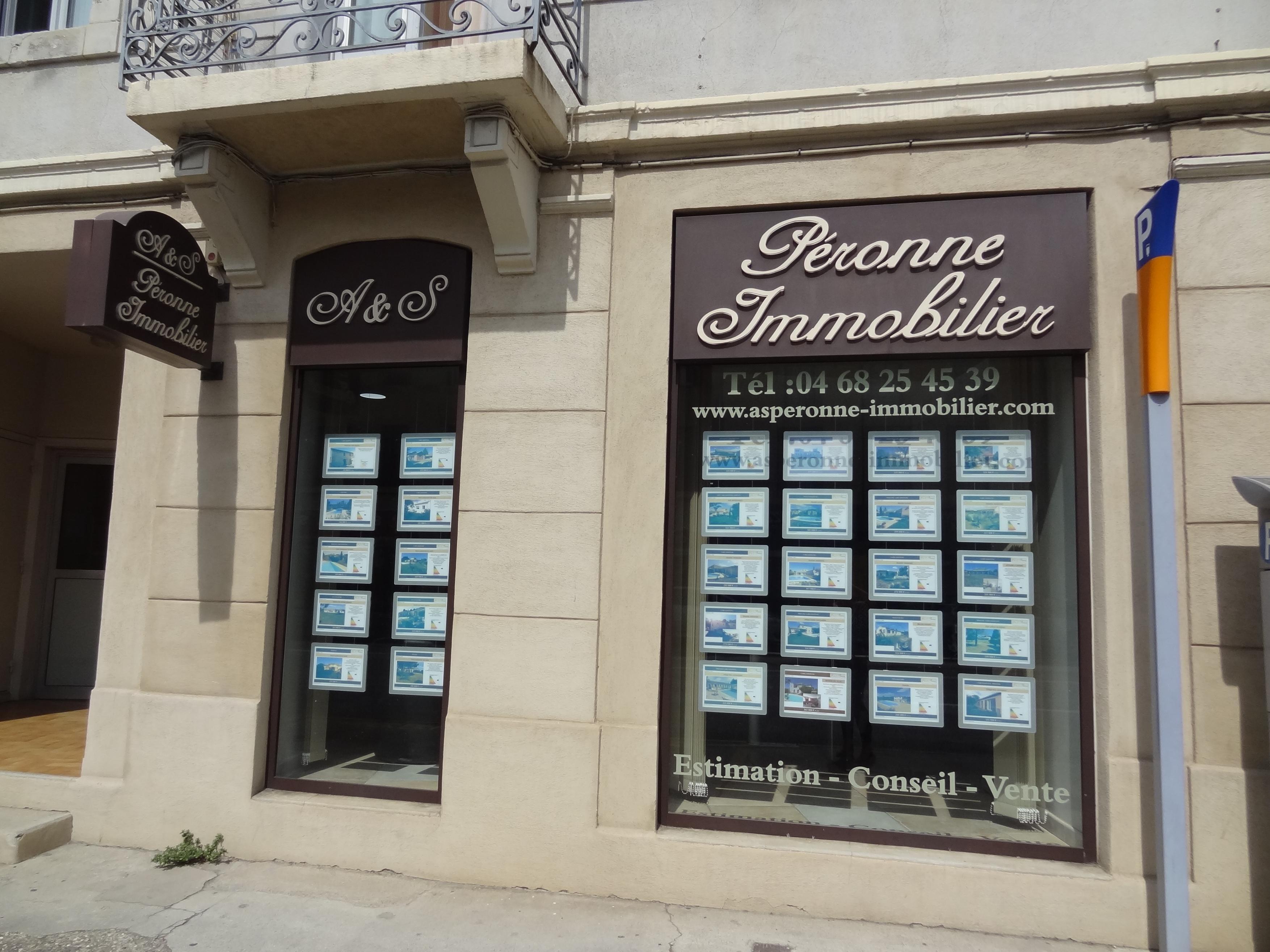 Agence A&S Péronne Immobilier agence immobilière Carcassonne (11000)
