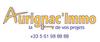 logo AURIGNAC IMMO