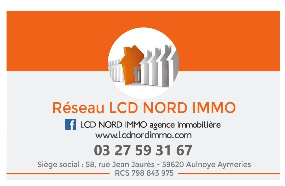 Réseau LCDNORDIMMO agence immobilière Aulnoye-Aymeries (59620)