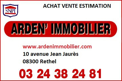 Arden Immobilier agence immobilière Rethel 08300