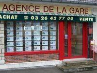 AGENCE DE LA GARE agence immobilière Sézanne (51120)