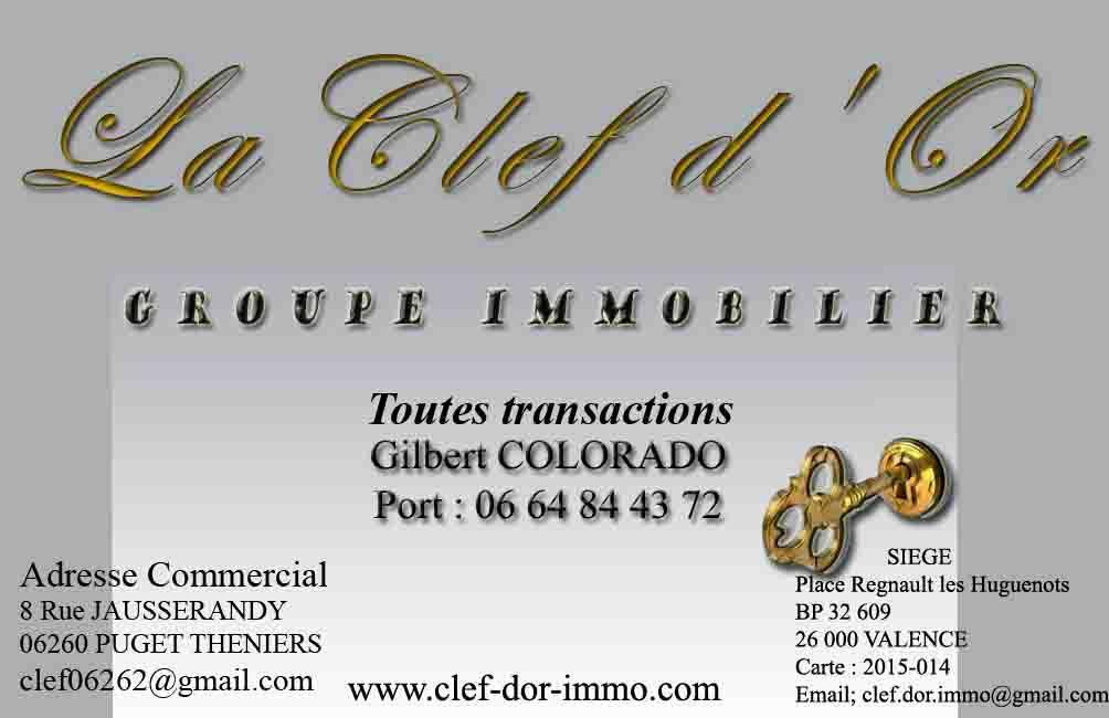 Groupe  la clef d'or agence immobilière Annot (04240)