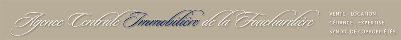 Agence Centrale Immobilière de la Fouchardière agence immobilière Poitiers (86000)