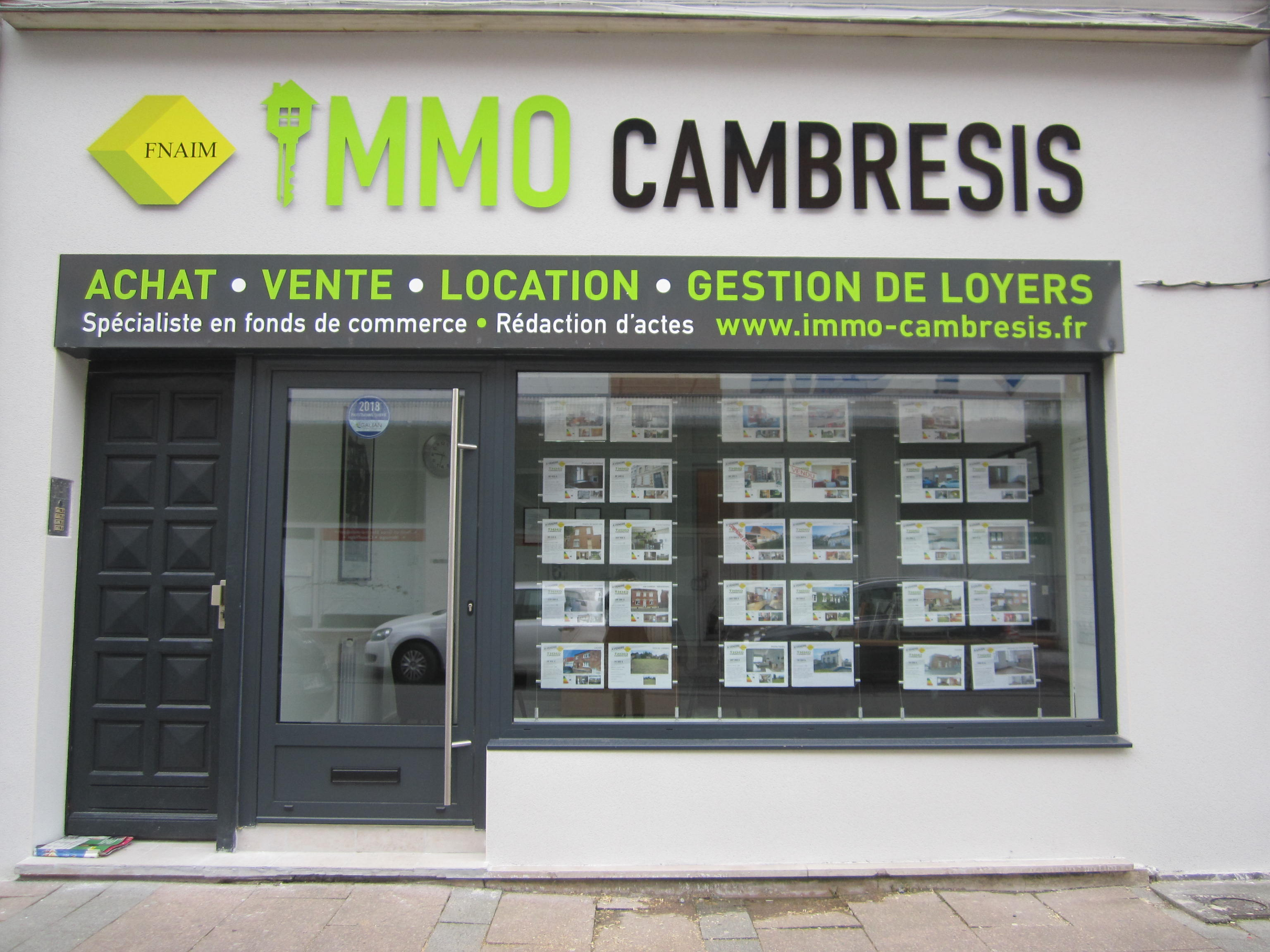 Immo Cambresis agence immobilière Caudry (59540)