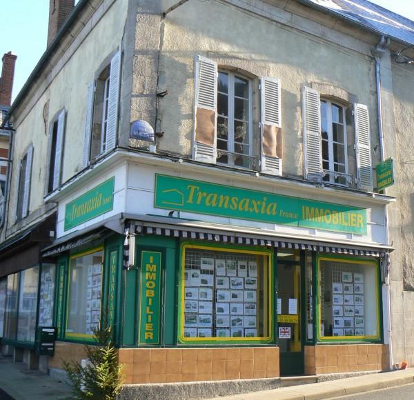 Transaxia Boussac agence immobilière Boussac (23600)