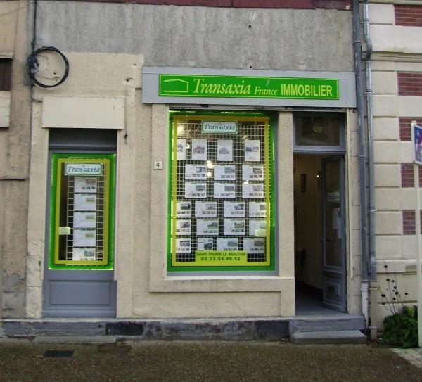 Transaxia Saint Pierre le Moutier agence immobilière Saint-Pierre-le-Moûtier (58240)