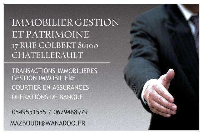 Immobilier Gestion Patrimoine agence immobilière Châtellerault (86100)